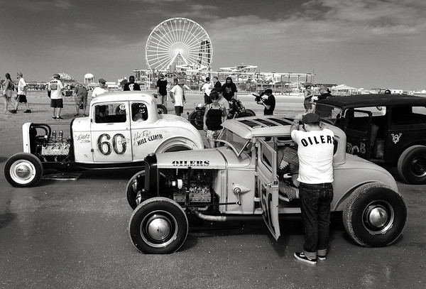 The second annual Race of Gentlemen. Wildwood, NJ.